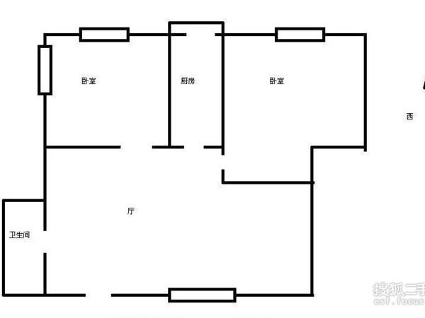 同方花园-户型图6