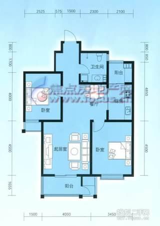 云锦蓝庭-户型图3