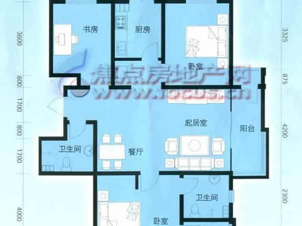 云锦蓝庭-户型图5