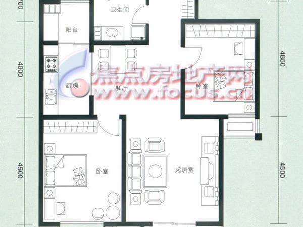 云锦蓝庭-户型图7