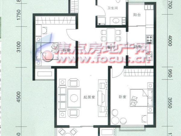 云锦蓝庭-户型图8