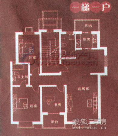 海韵家园-户型图2