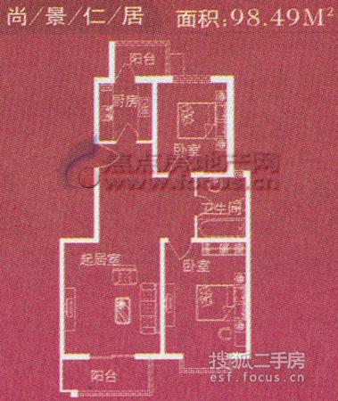 海韵家园-户型图5