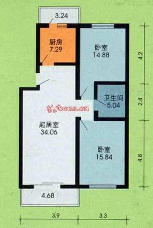 东盈园-户型图4