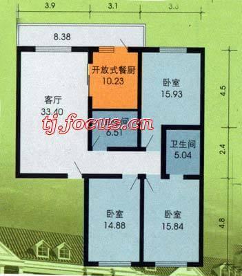 东盈园-户型图2