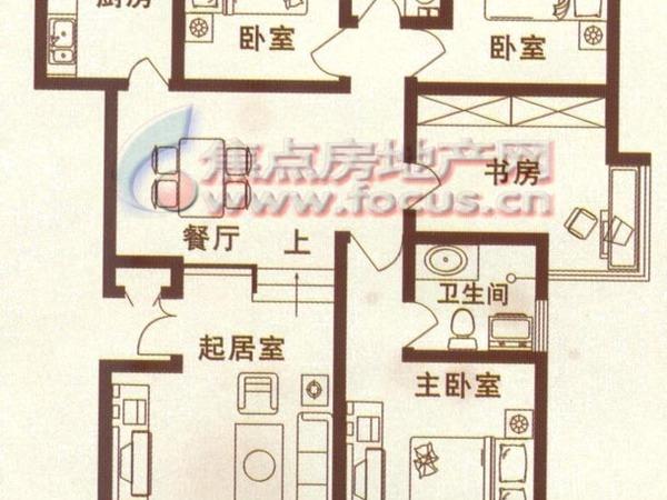米兰翠景-户型图2