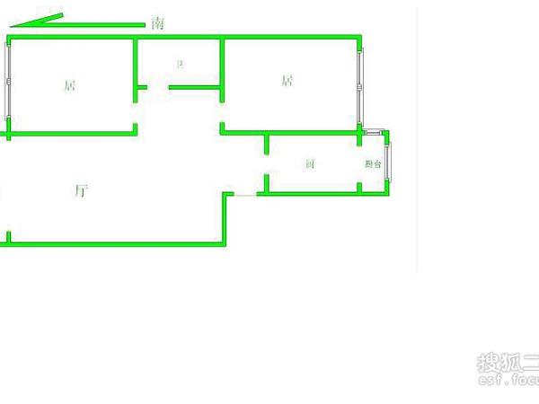 益博公寓-户型图4