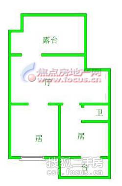 德恩公寓-户型图4