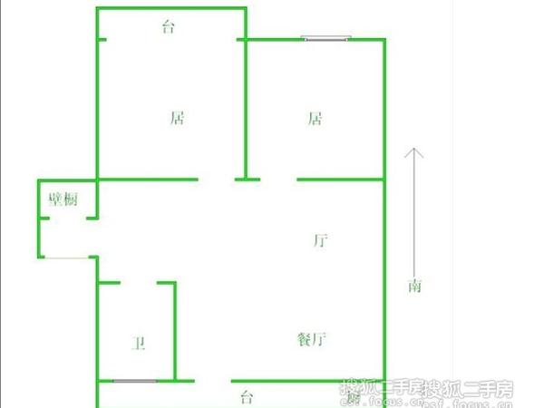 德恩公寓-户型图5