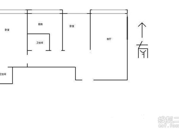 德恩公寓-户型图7