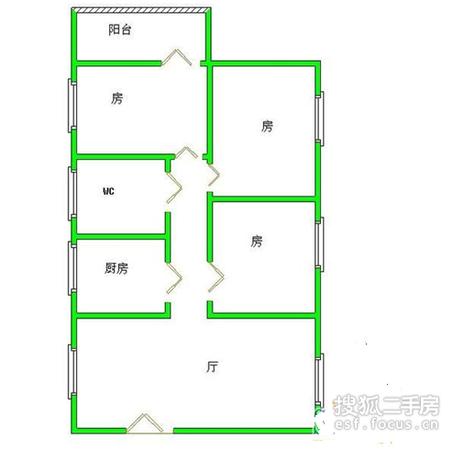 银丰花园-户型图5