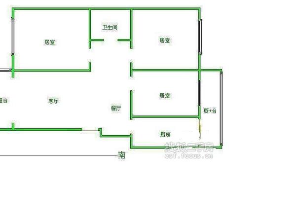 花园五座轩-户型图6
