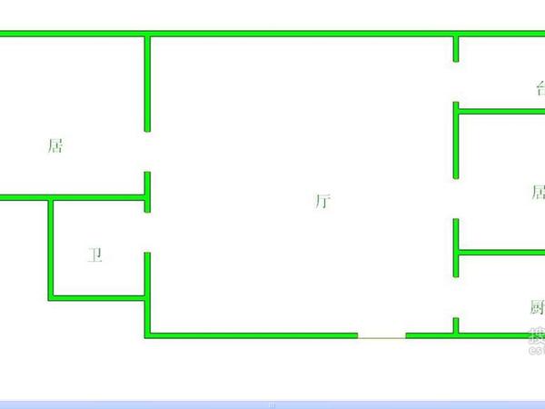 河怡花园-户型图2