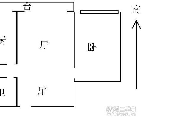天津富力中心写字楼-户型图6