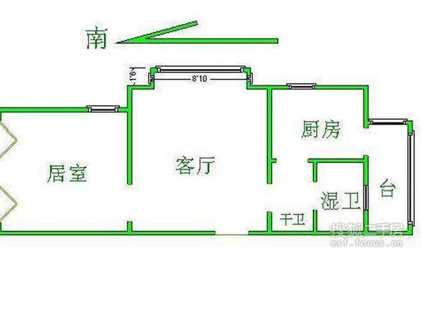 双安里-户型图4