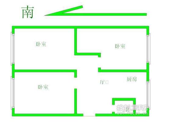 碧水世纪园-户型图7
