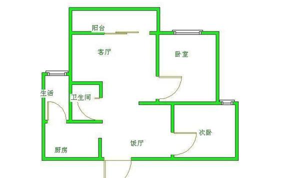 集平里-户型图6