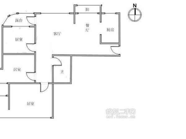 天泰公寓-户型图6