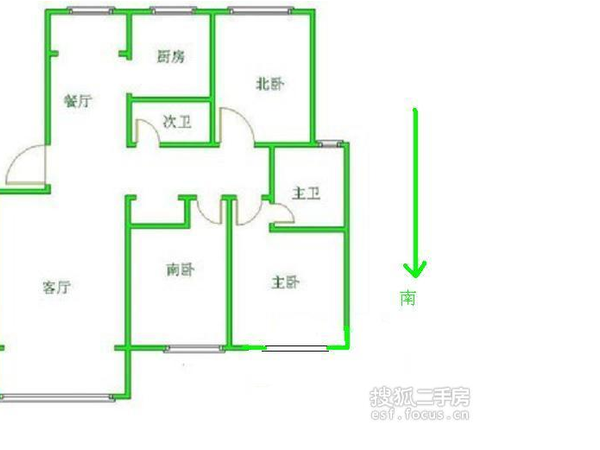 天泰公寓-户型图7