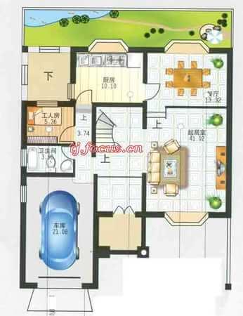福华里·大港区-户型图5