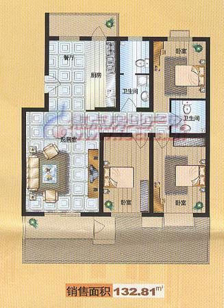 福华里·大港区-户型图8