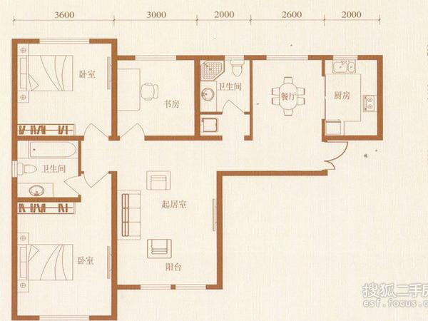 金泰丽湾-户型图7