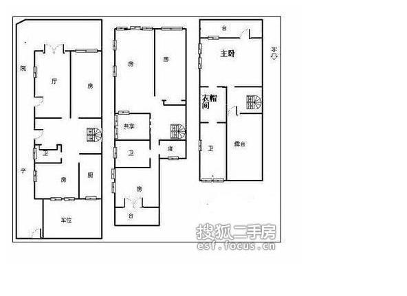 翠泉别墅-户型图2