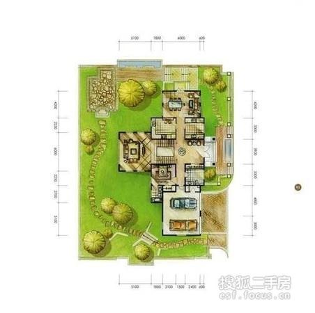 别墅 卫卫/户型图