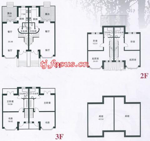 玫瑰庄园-户型图2