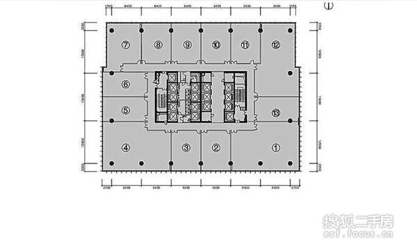 富力盈力大厦-户型图4