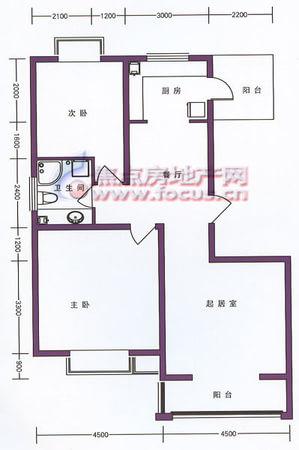 贻芳嘉园-户型图3