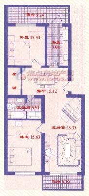 春厦小区-户型图3