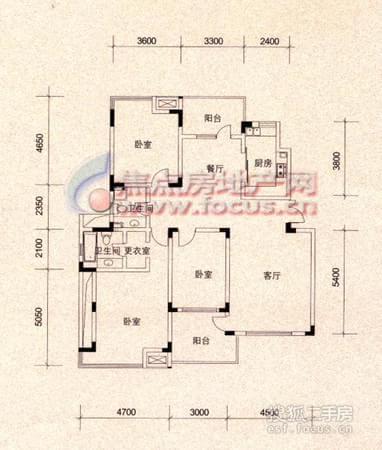 雅都天泽-户型图4