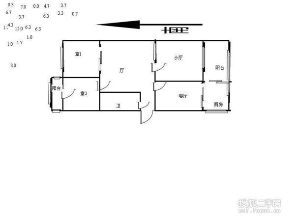 詹滨西里-户型图7