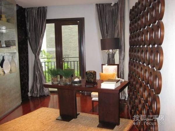 观唐中式宅院室内图 北入户南花园观唐二期豪华装修样板间