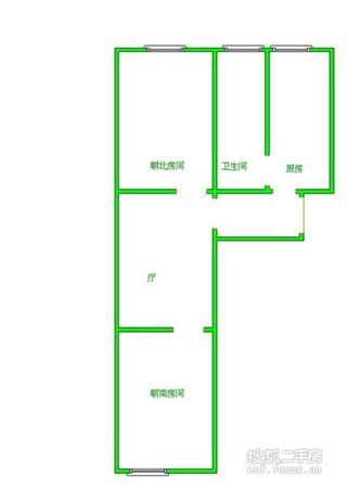 虹口区 凉城 水电路1013弄小区 简装修 39平米1室1厅厅1卫卫