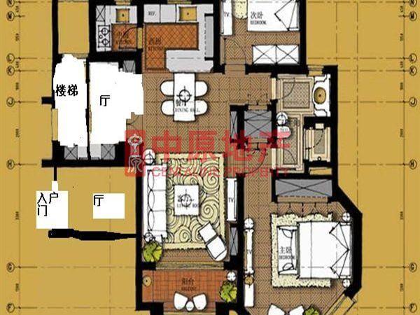 宝山区 罗店 上置绿洲香岛原墅别墅小区 精装修 108平米2室2厅厅1卫卫