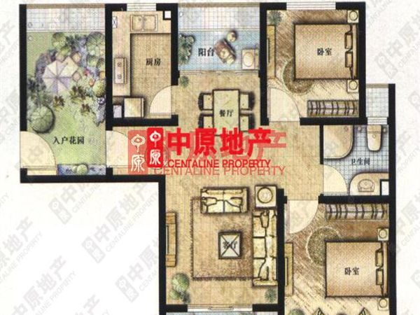 三间 房子平房 设计图 农村展示