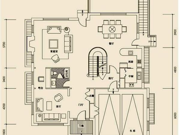 小区装修室内电路图