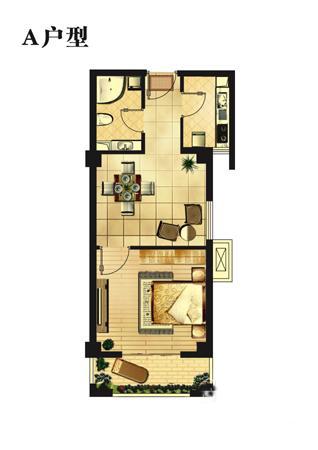 宾馆卫生间平面设计图展示