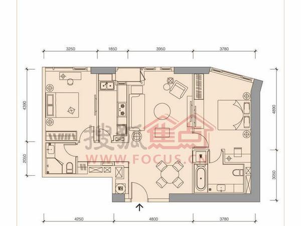 香格里拉公司结构框架图