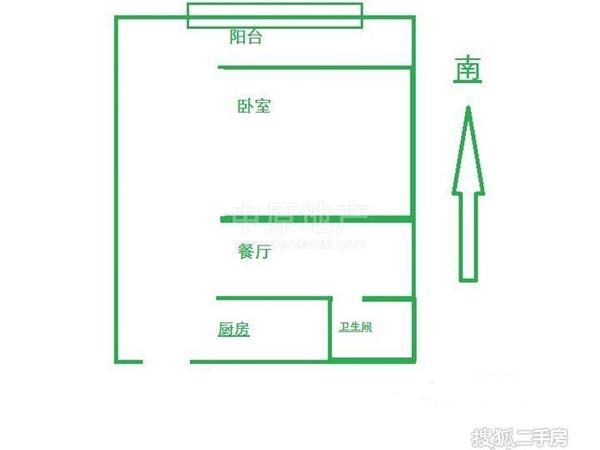 虹口区 曲阳 水电路583弄小区 中等装修 48平米2室无厅厅1卫卫