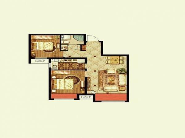 农村110平方做三房一厅设计图