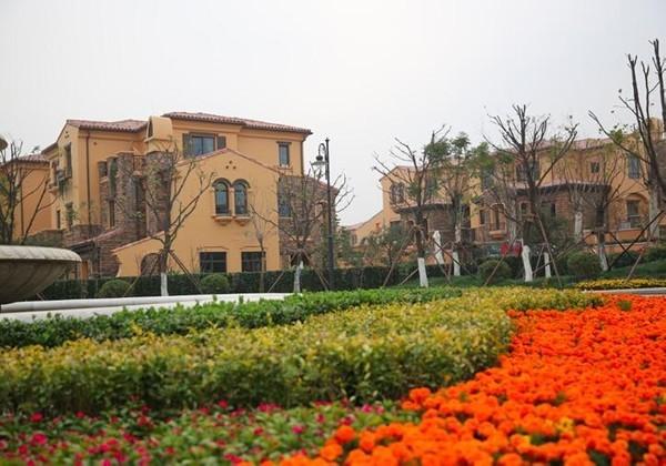 首创开发国际半岛联排别墅西班牙英伦风格京津门户
