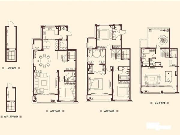 星光域叠加别墅,私家电梯入户,送超大阁楼和露台!