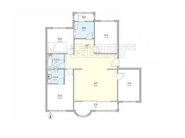 800平米别墅户型图