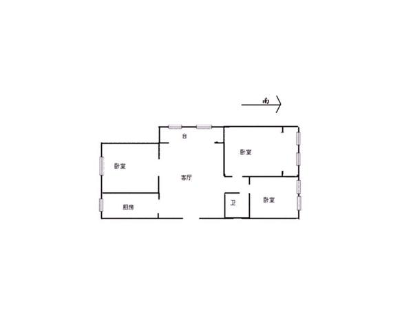 居华里-户型图8