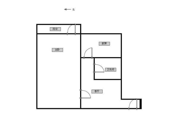 双峰里-户型图8