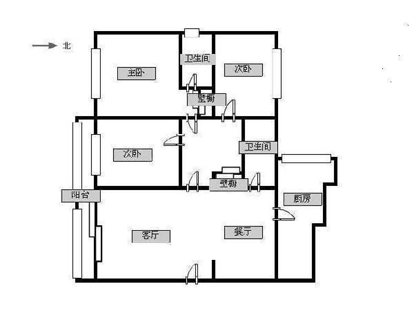新城市花园-户型图2
