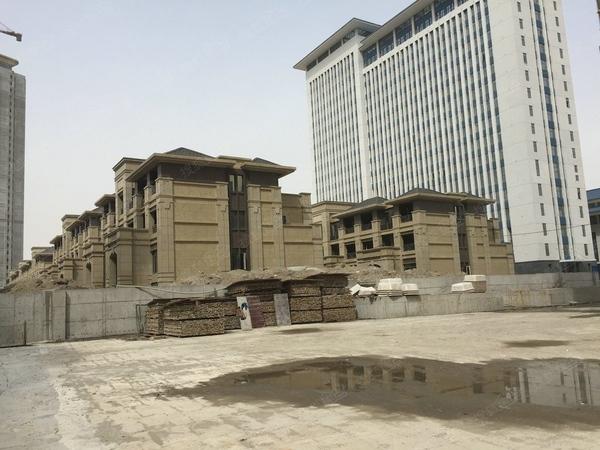 绿地珑墅 现房别墅实得面积330平汉阳江城大道与四新大道交汇-室外图-362194942